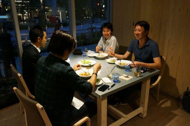 ブログ0617東京会員様との会食